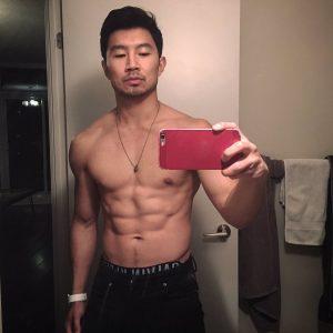 Simu Liu on Guys With iPhones